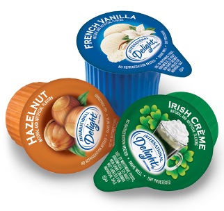 WhiteWave removes PVDC from single creamer cups